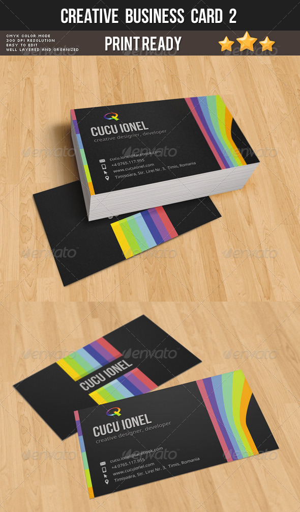 GraphicRiver Creative Business Card 2 8597695