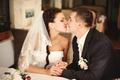 Bonds of matrimony.