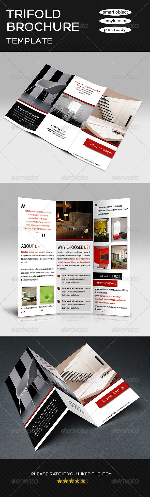 GraphicRiver Multipurpose Tri-fold Brochure 8603290