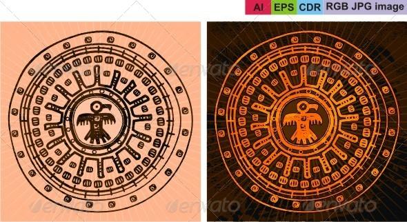 GraphicRiver Fon after Aztecs 8603294