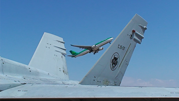 Aircraft At Airport 11