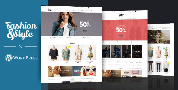 ThemeForest Fashion WooCommerce Responsive WordPress Theme 8603547