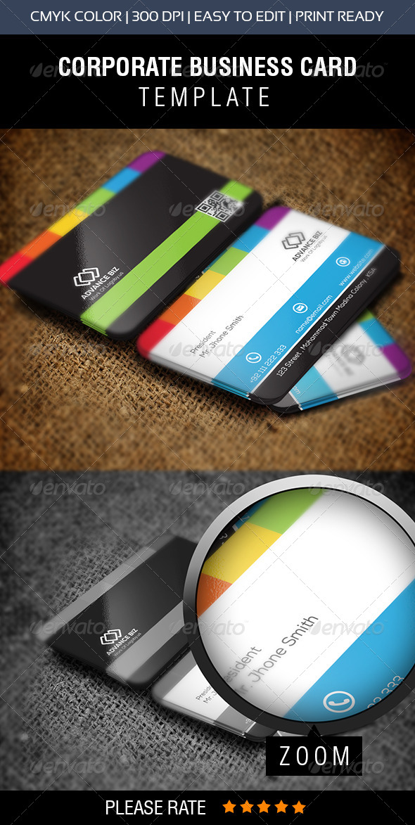 GraphicRiver Simple Business Card 8597963