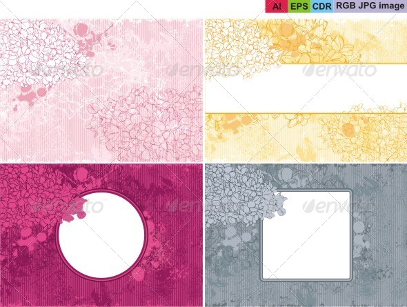 GraphicRiver Floral Background 8603697