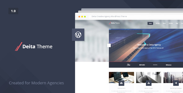 ThemeForest Deita Responsive Modern Agency Theme 8603738