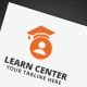 Learn Center Logo - GraphicRiver Item for Sale
