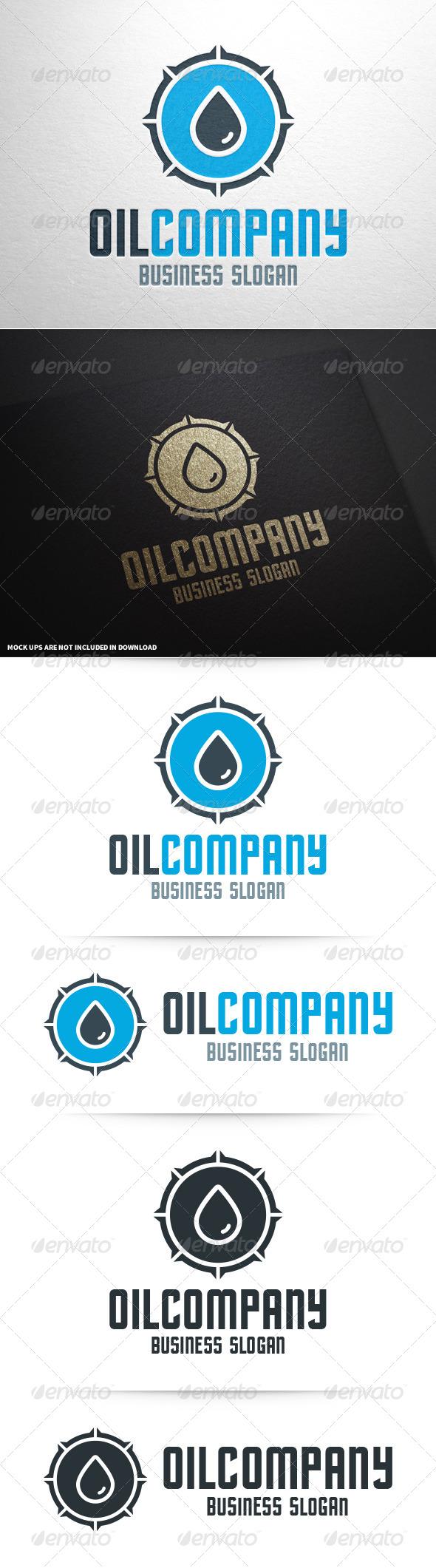 GraphicRiver Oil Company Logo Template 8604032