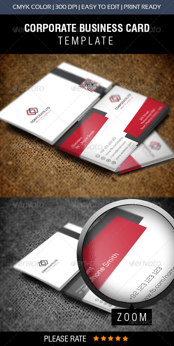 GraphicRiver Corporate Business Card 2 8604051