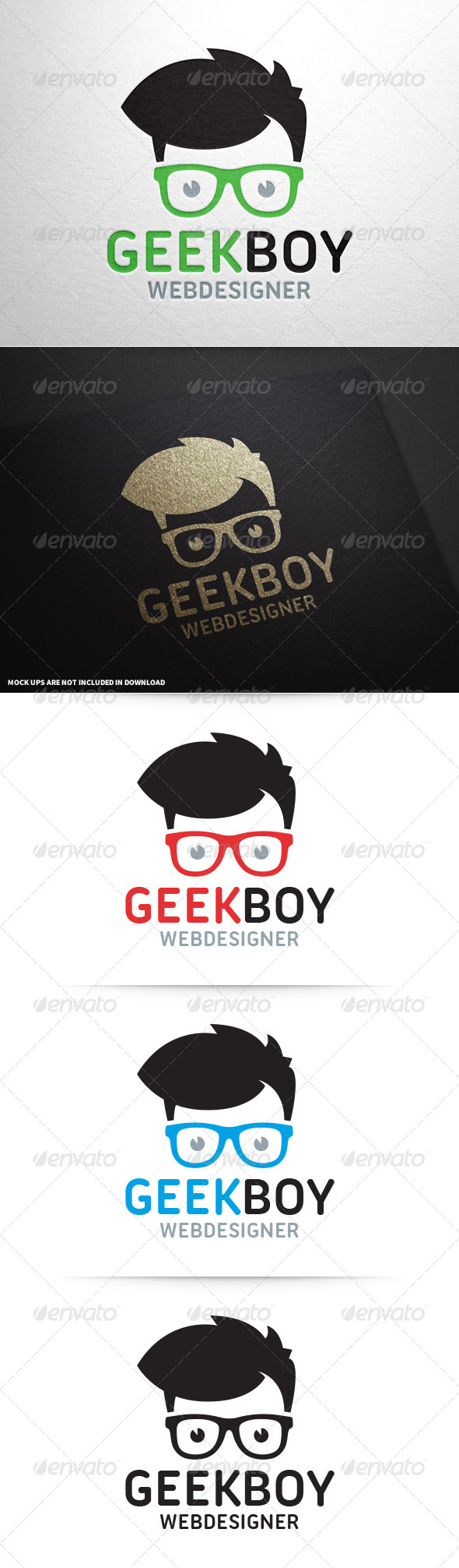 GraphicRiver Geek Boy Logo v2 8604362