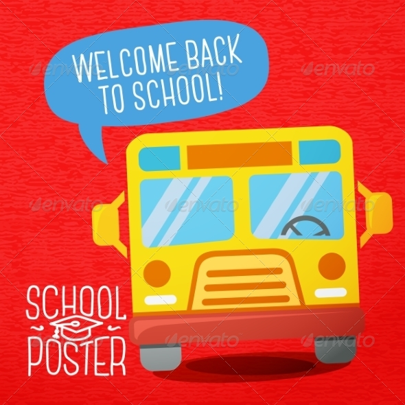 GraphicRiver Back to School Design Template 8604386