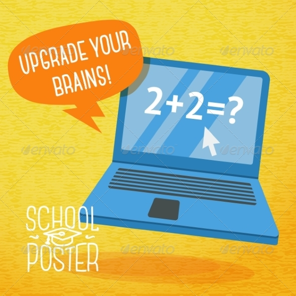 GraphicRiver Back to School Design Template 8604389