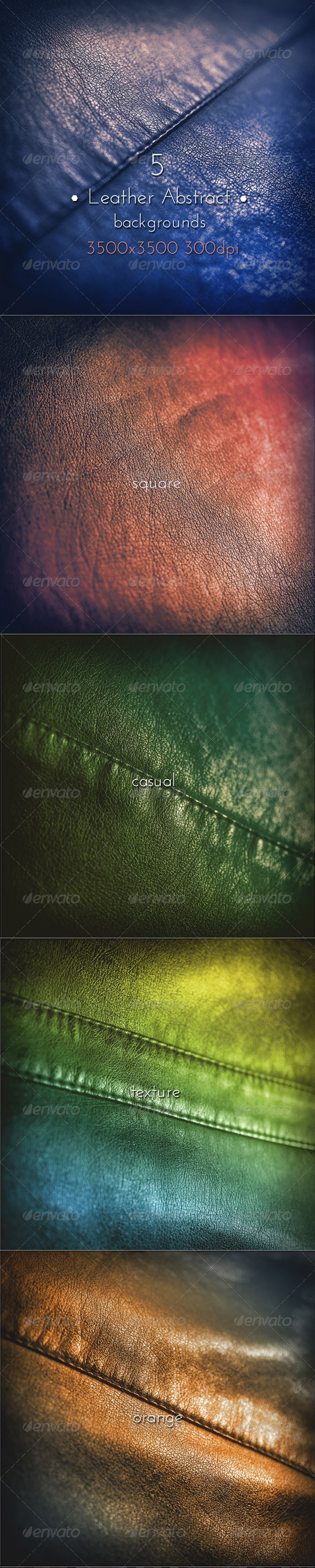 GraphicRiver Leather Abstract Grunge Collection 8604532