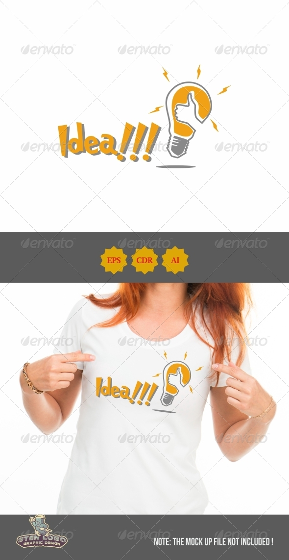 GraphicRiver Idea Logo 8604816