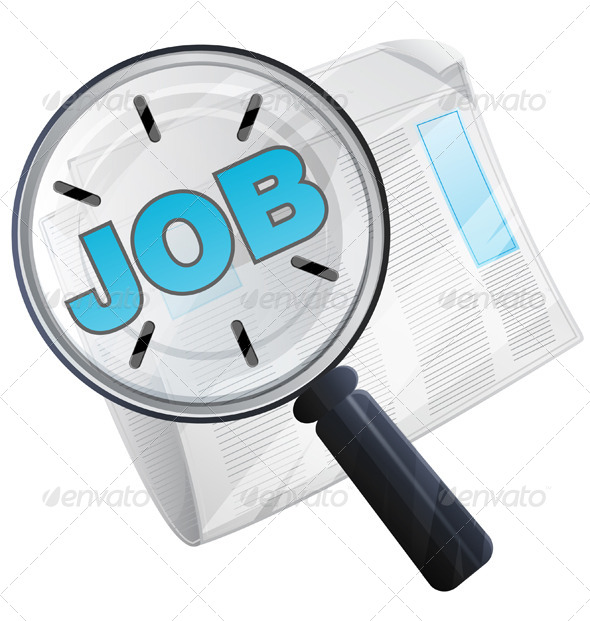 GraphicRiver Job Search Icon 8605002