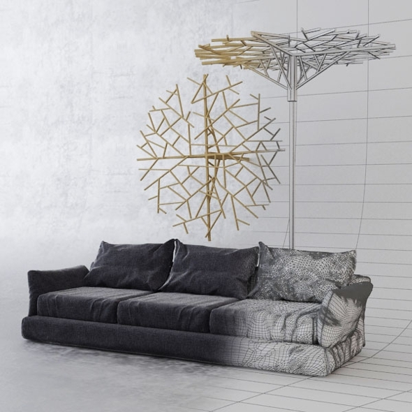3DOcean Sofa constanta 8605045