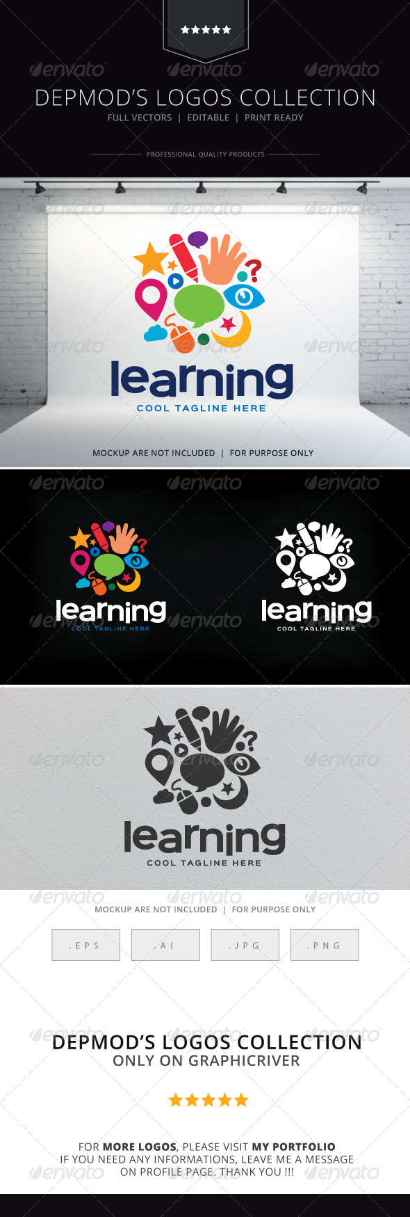 GraphicRiver Learning Logo 8605225