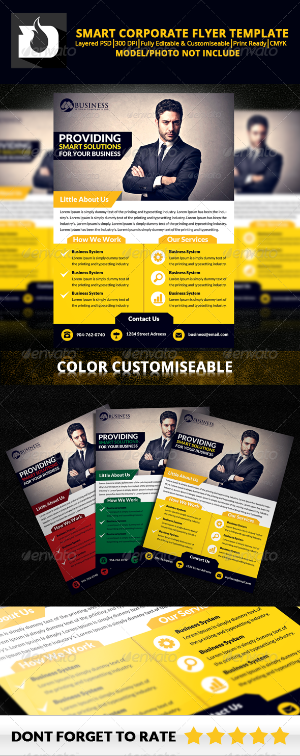 GraphicRiver Smart Business Flyer Template V2.1 8605849