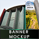 Banner and Poster Mock-Up - GraphicRiver Item for Sale