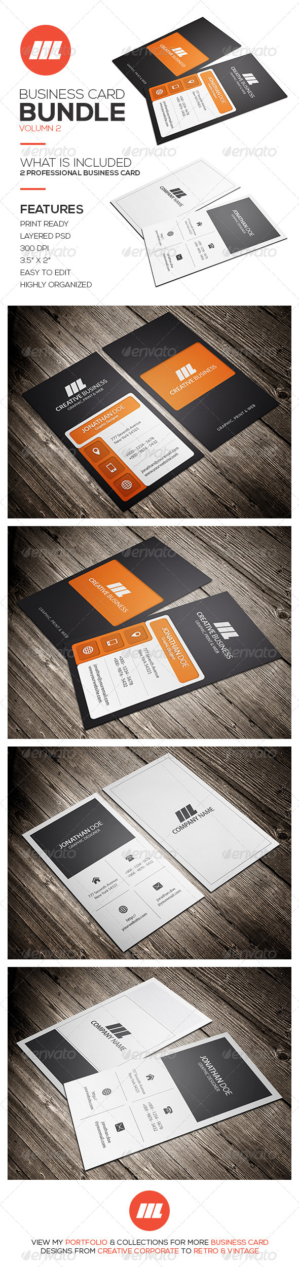GraphicRiver Business Card Bundle Vol 2 8606040