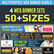 Corporate Web Banner Set Bundle - GraphicRiver Item for Sale