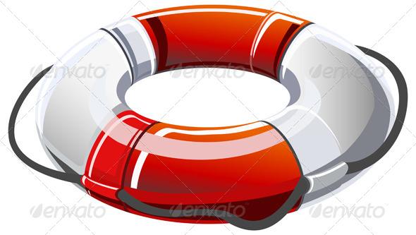 GraphicRiver Lifebuoy Illustration 8606060