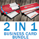 Red & White Business Card Bundle - GraphicRiver Item for Sale