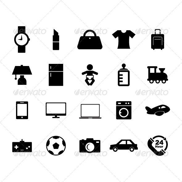 GraphicRiver Online Shop Icon 8606380