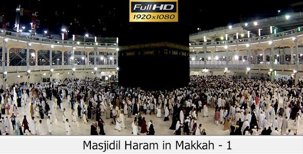 Masjidil Haram in Makkah 1
