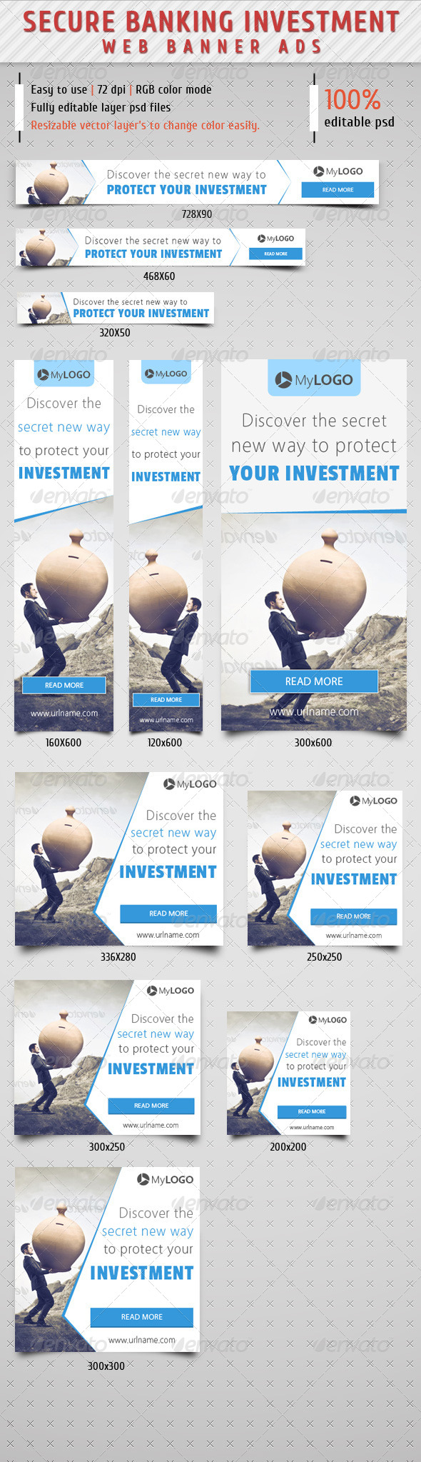 GraphicRiver Secure Banking Investment Web Banner 8607043