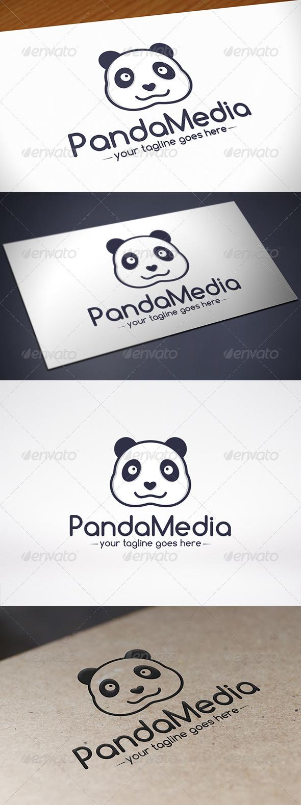 GraphicRiver Panda Logo Template 8607570