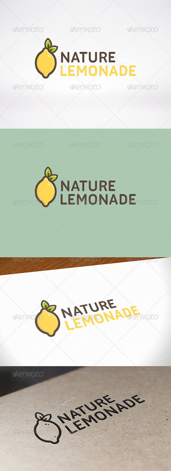GraphicRiver Lemon Logo Template 8607619