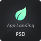 Delicious App Landing PSD Theme - ThemeForest Item for Sale