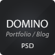 Domino PSD Theme - ThemeForest Item for Sale
