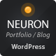 Neuron Responsive WordPress Theme - ThemeForest Item for Sale