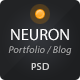 Neuron PSD Theme - ThemeForest Item for Sale