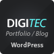 DigiTec WordPress Theme - ThemeForest Item for Sale