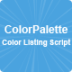 ColorPalette - CodeCanyon Item for Sale
