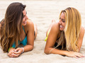 Two women on the beach - PhotoDune Item for Sale