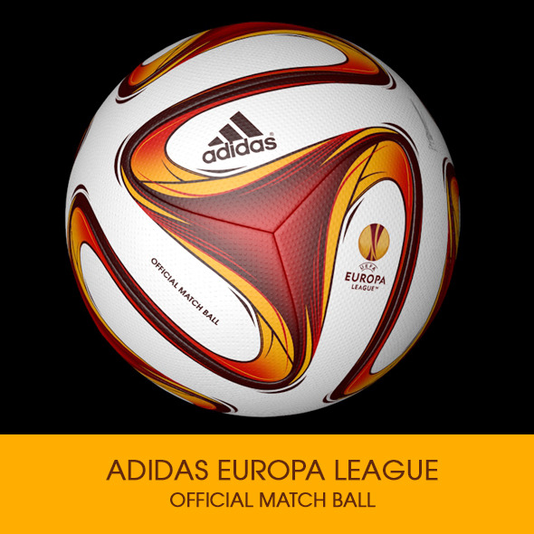 3DOcean Adidas Europa League Ball 3D model 8608511