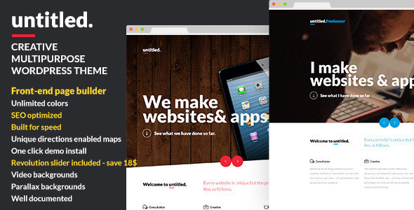 Untitled - Creative Multipurpose WordPress Theme - Creative WordPress