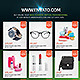 Product Promotion Flyer - GraphicRiver Item for Sale