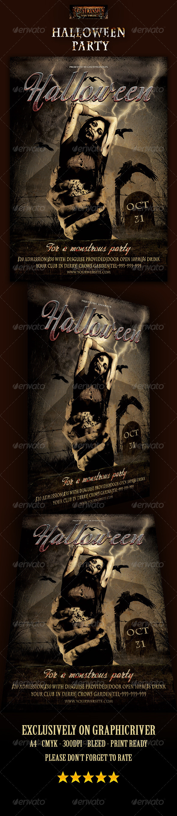 GraphicRiver Halloween Party 8608668