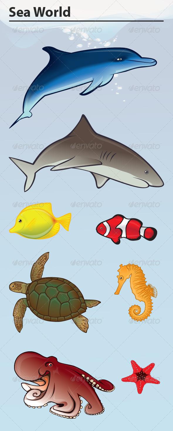 GraphicRiver Sea World 8608983