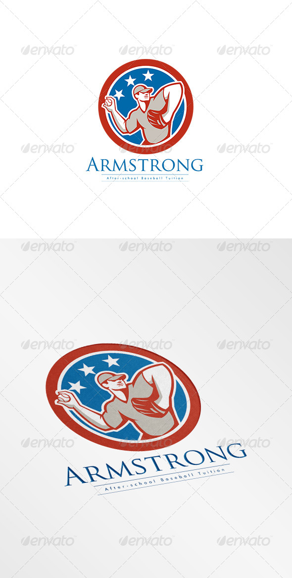 GraphicRiver Armstrong After School Baseball Logo 8609044