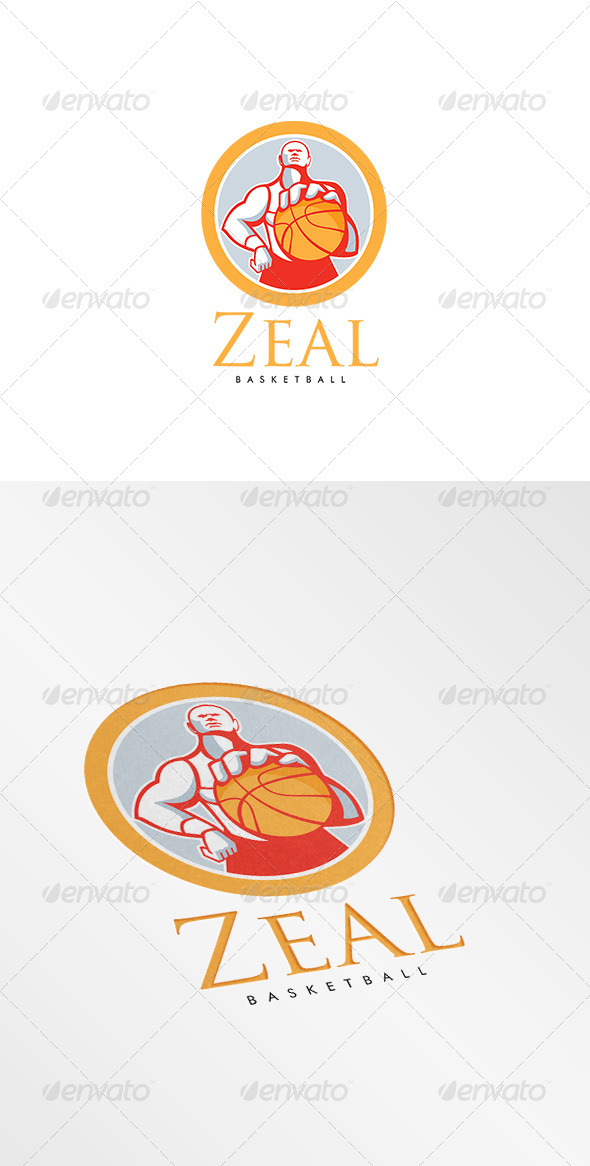 GraphicRiver Zeal Basketball Logo 8609050