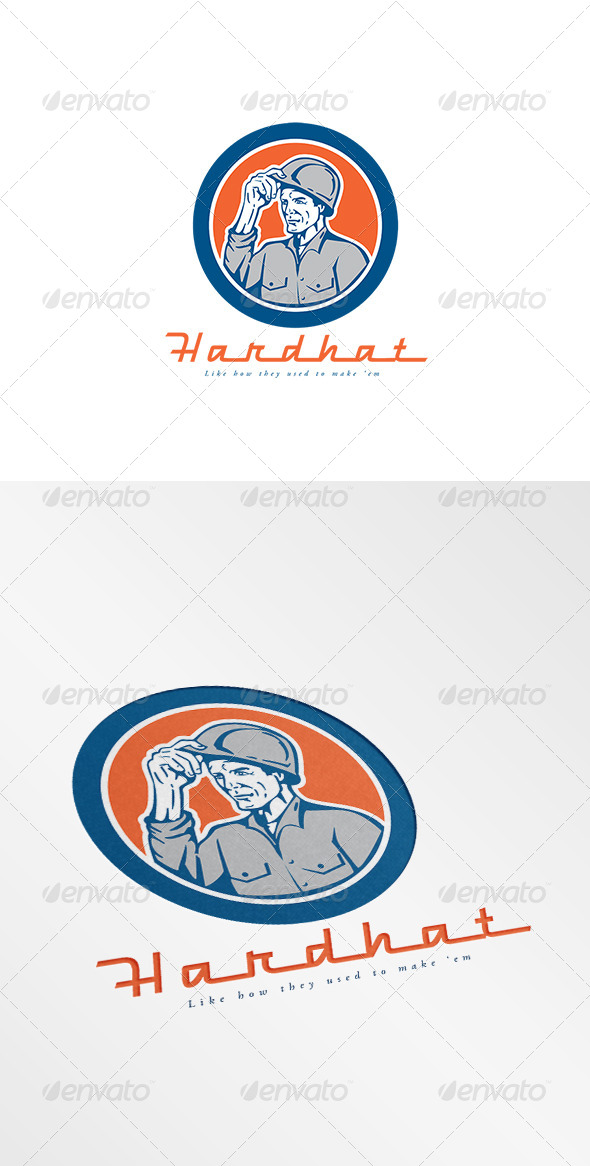 GraphicRiver Hardhat Construction Logo 8609052