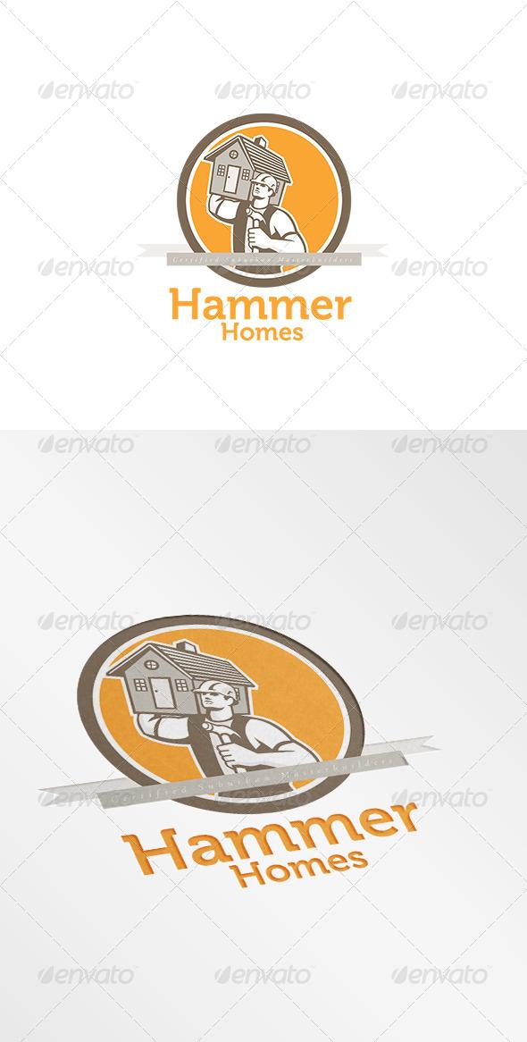 Hammer Homes Master Builders Logo