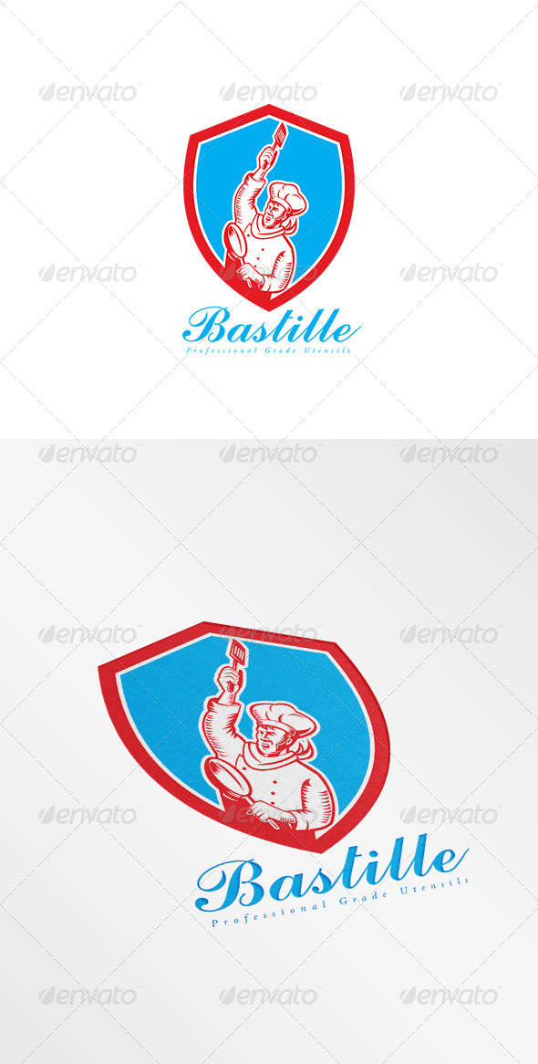 Bastille Professional Kitchen Utensils Logo