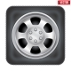 Car Wheel - GraphicRiver Item for Sale