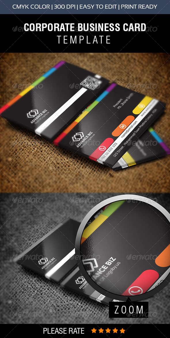 GraphicRiver Creative Corporate Business Card 8609223